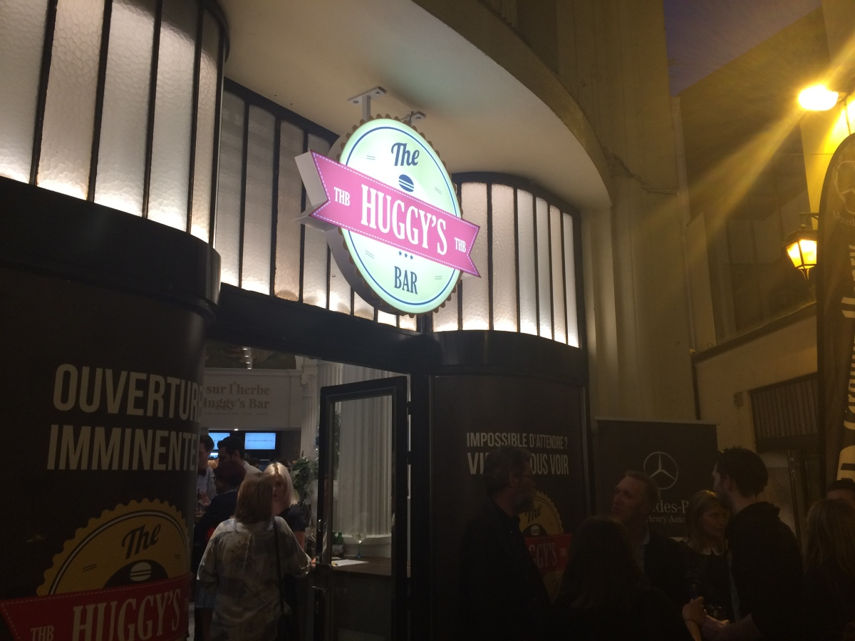 Inauguration The Huggy's Bar   PassageLemonnier