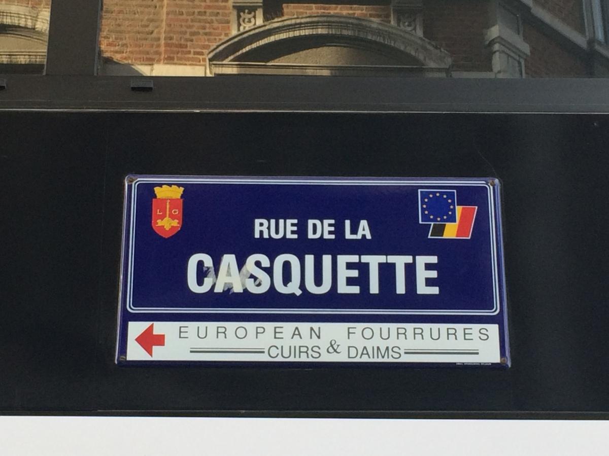 Ces rues qui bougent à Liège #2:Casquette